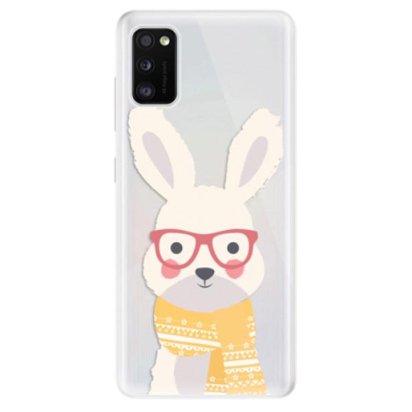 Odolné silikonové pouzdro iSaprio - Smart Rabbit - Samsung Galaxy A41