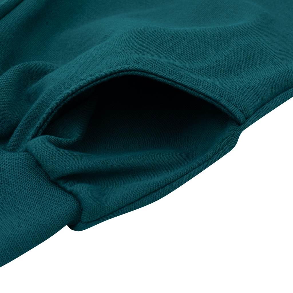 Kojenecké tepláčky a mikinka New Baby Uni smaragdově