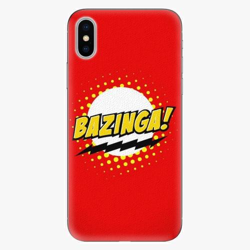 Plastový kryt iSaprio - Bazinga 01 - iPhone X