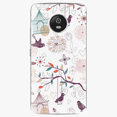 Plastový kryt iSaprio - Birds - Lenovo Moto G5