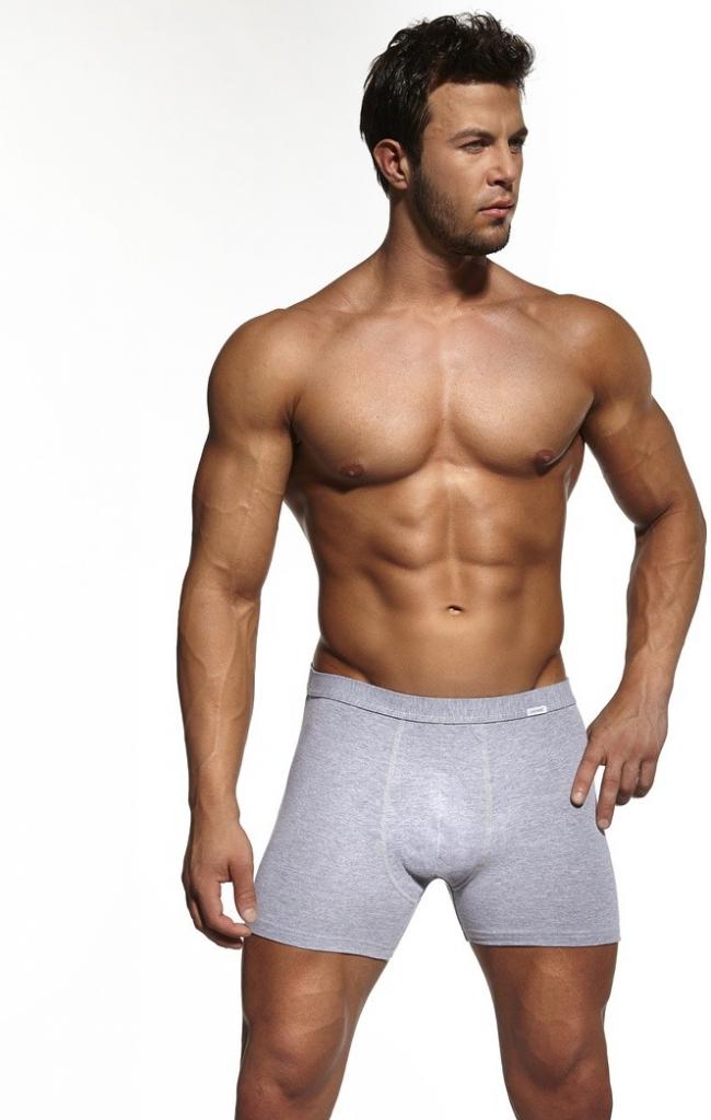 Pánské boxerky Authentic perfect - Cornette - Bílá/5-XL