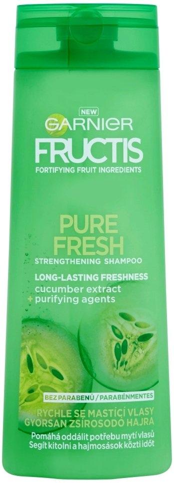 Fructis Pure Fresh Strenghehing Posilující šampon na rychle se mastící vlasy 400 ml
