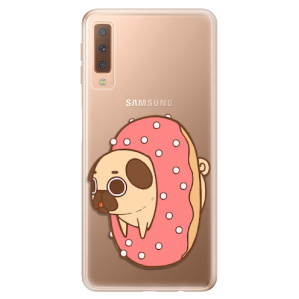 Odolné silikonové pouzdro iSaprio - Dog 04 - Samsung Galaxy A7 (2018)