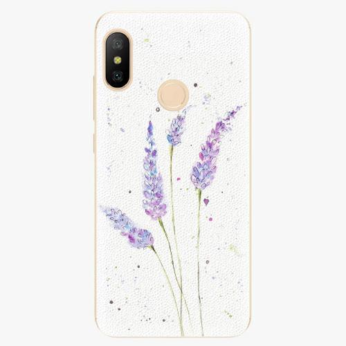 Silikonové pouzdro iSaprio - Lavender - Xiaomi Mi A2 Lite