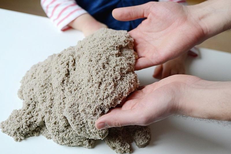 Adam Toys, Kinetický písek - přírodní - 3kg