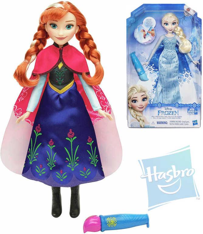 HASBRO Panenka 28 cm s vybarvovací sukní Anna / Elsa Ledové Království 2 druhy