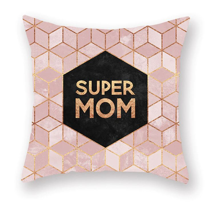 Povlak na polštář v severském stylu - Super mom