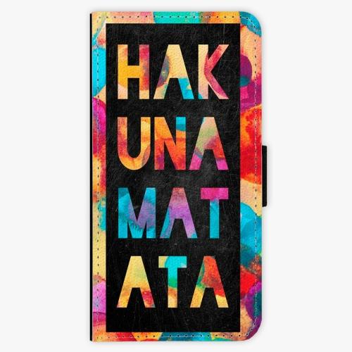 Flipové pouzdro iSaprio - Hakuna Matata 01 - iPhone 7 Plus