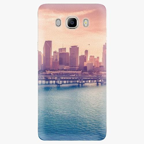 Plastový kryt iSaprio - Morning in a City - Samsung Galaxy J7 2016