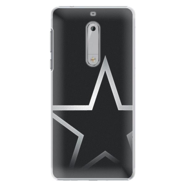 Plastové pouzdro iSaprio - Star - Nokia 5