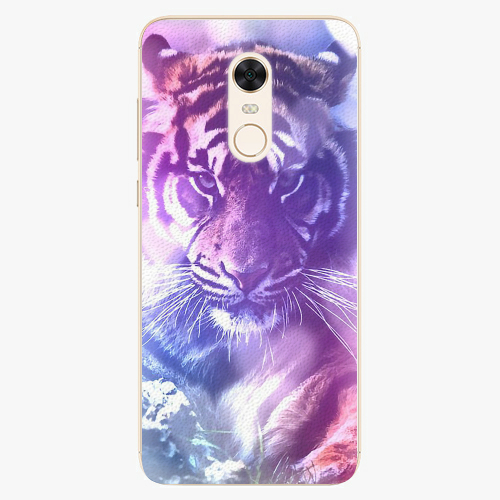 Plastový kryt iSaprio - Purple Tiger - Xiaomi Redmi 5 Plus