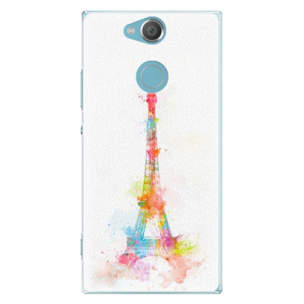 Plastové pouzdro iSaprio - Eiffel Tower - Sony Xperia XA2