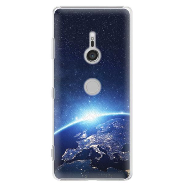 Plastové pouzdro iSaprio - Earth at Night - Sony Xperia XZ3