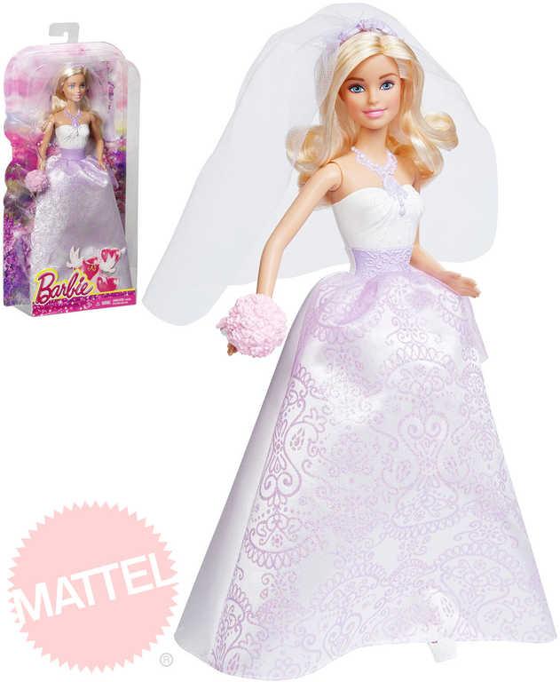 MATTEL Panenka BRB Barbie nevěsta ve svatebních šatech