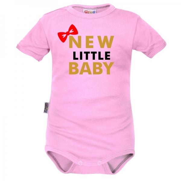 body-kratky-rukav-dejna-new-little-baby-girl-ruzove-vel-68-68-4-6m