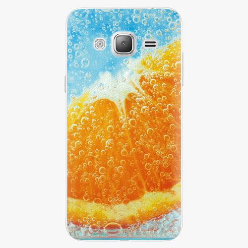 Plastový kryt iSaprio - Orange Water - Samsung Galaxy J3 2016