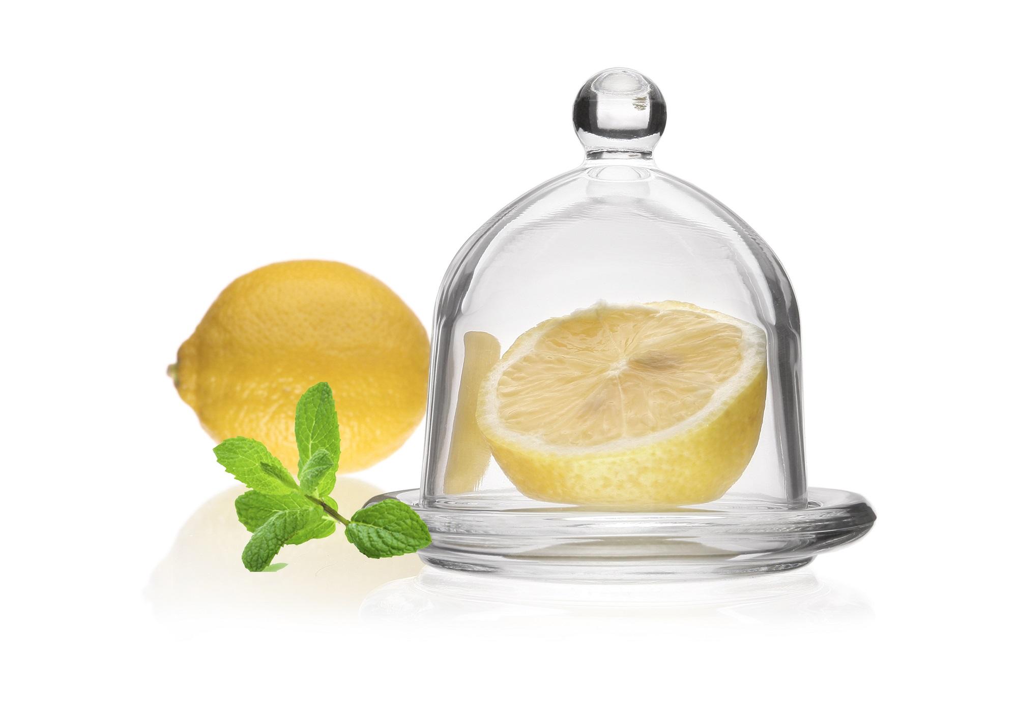 Dóza na citron s poklopem