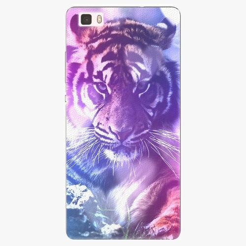 Plastový kryt iSaprio - Purple Tiger - Huawei Ascend P8 Lite