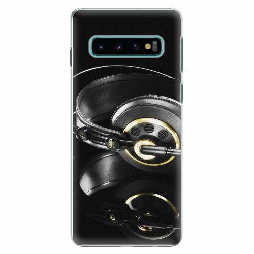 Plastový kryt iSaprio - Headphones 02 - Samsung Galaxy S10