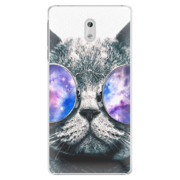 Plastové pouzdro iSaprio - Galaxy Cat - Nokia 3