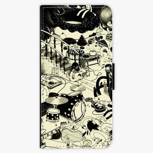 Flipové pouzdro iSaprio - Underground - Sony Xperia XA