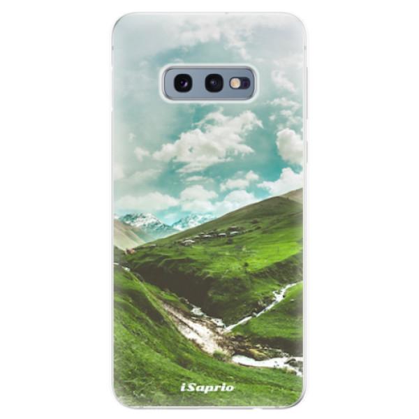Odolné silikonové pouzdro iSaprio - Green Valley - Samsung Galaxy S10e