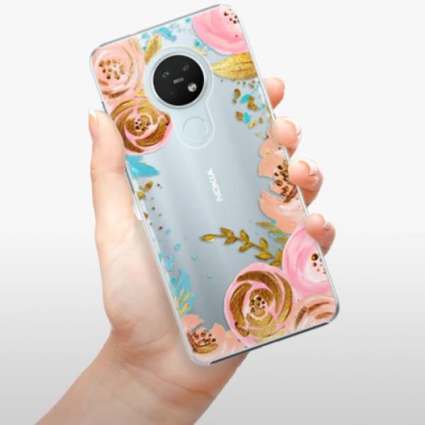 Plastové pouzdro iSaprio - Golden Youth - Nokia 7.2