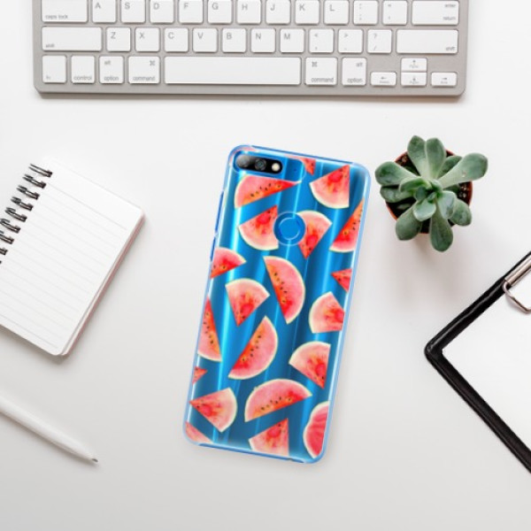 Plastové pouzdro iSaprio - Melon Pattern 02 - Huawei Y7 Prime 2018