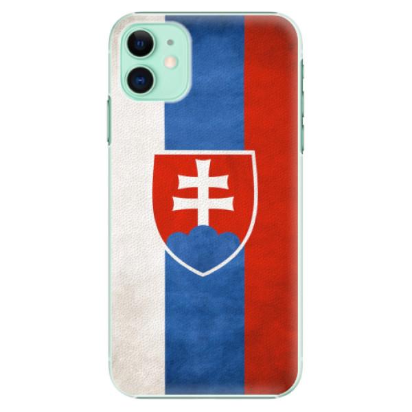 Plastové pouzdro iSaprio - Slovakia Flag - iPhone 11