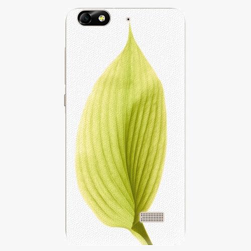 Plastový kryt iSaprio - Green Leaf - Huawei Honor 4C