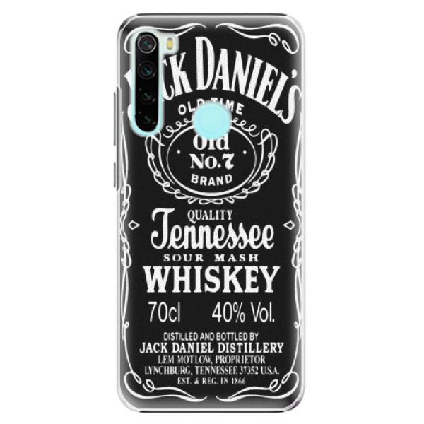 Plastové pouzdro iSaprio - Jack Daniels - Xiaomi Redmi Note 8