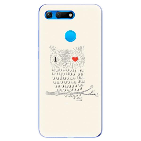 Odolné silikonové pouzdro iSaprio - I Love You 01 - Huawei Honor View 20