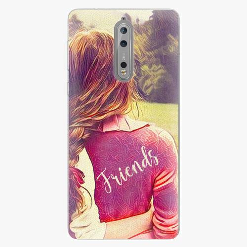 Plastový kryt iSaprio - BF Friends - Nokia 8