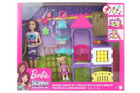 Barbie Chůva na hříšti herní set GHV89