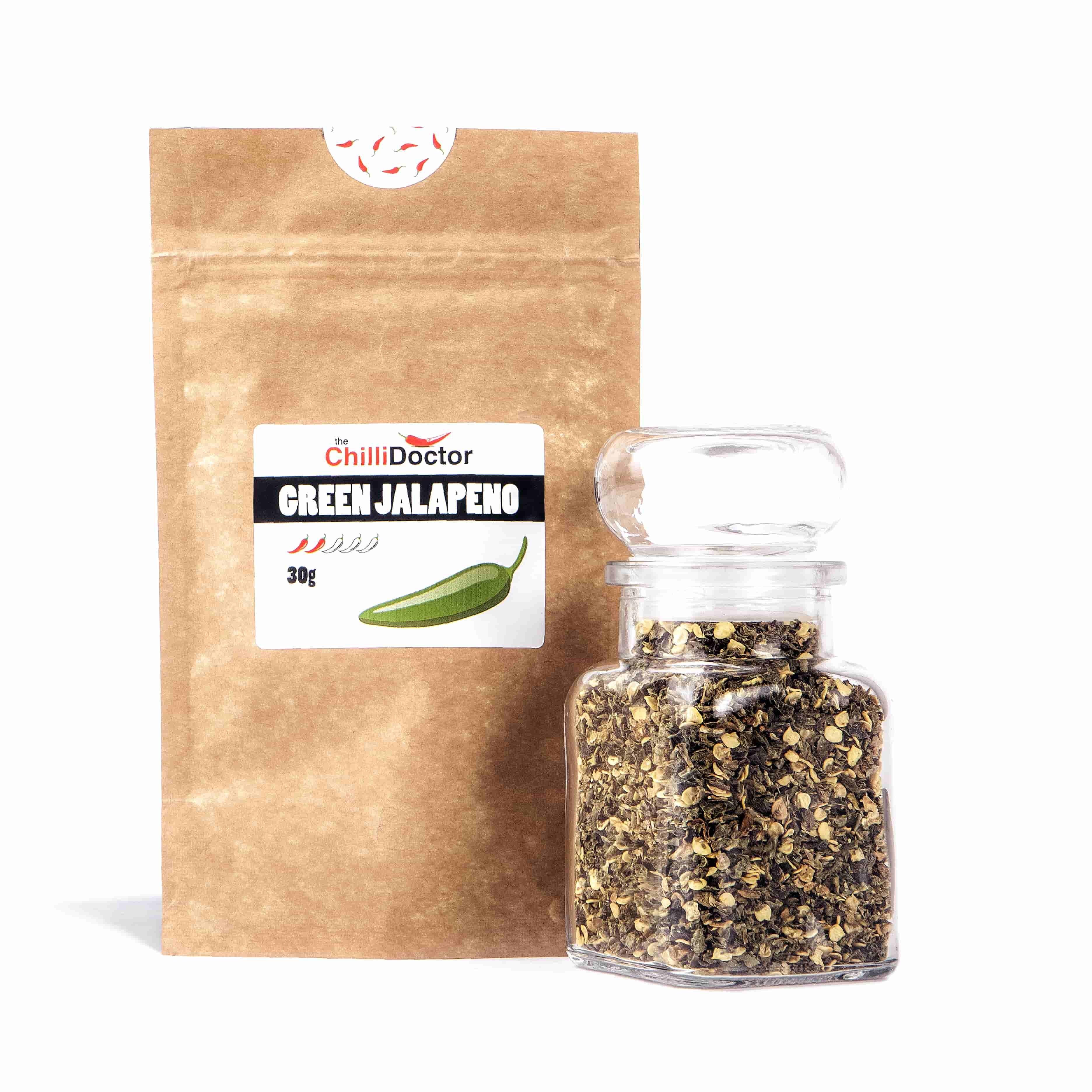 Green Jalapeño granule 30 g