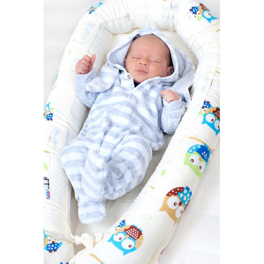 Luxusní hnízdečko s peřinkami pro miminko New Baby