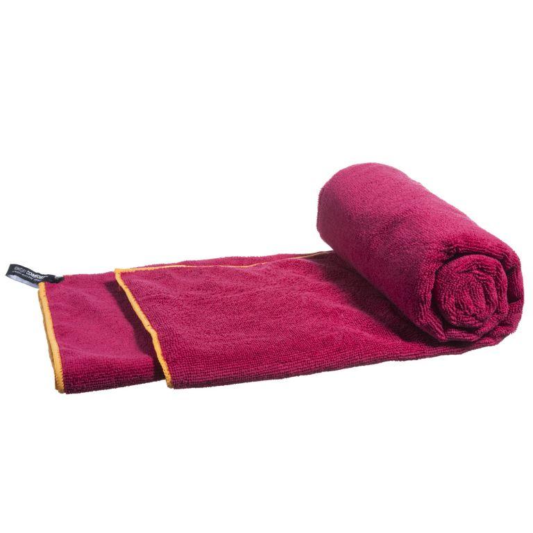 Ručník z mikrovlákna, červený, 160 x 80 cm