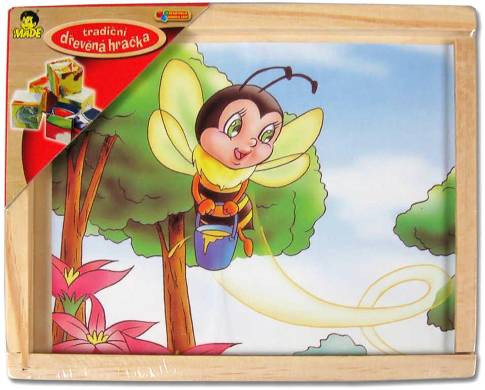 DŘEVO Kubus dřevěný 12 ks (dřevěné kostky)* DŘEVĚNÉ HRAČKY