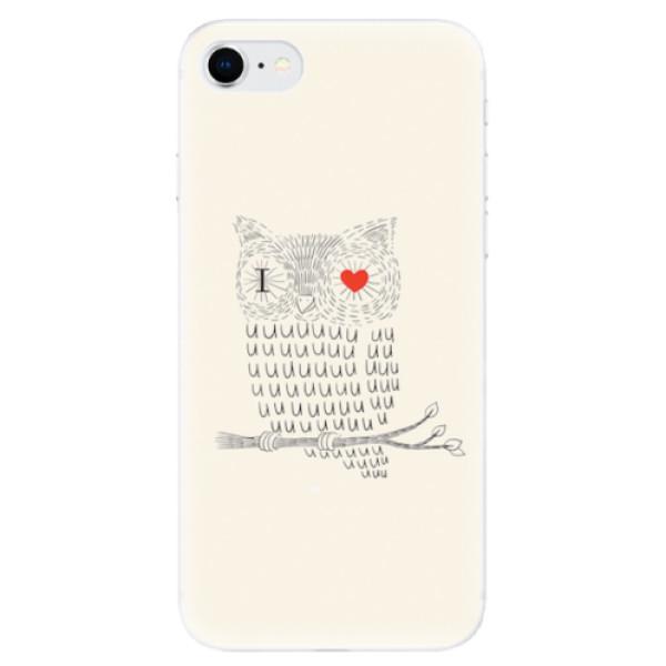 Odolné silikonové pouzdro iSaprio - I Love You 01 - iPhone SE 2020