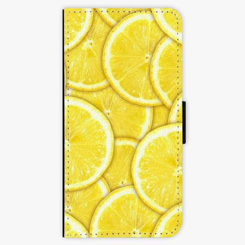 Flipové pouzdro iSaprio - Yellow - iPhone 7 Plus
