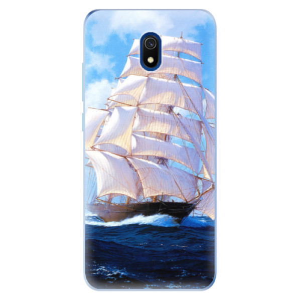 Odolné silikonové pouzdro iSaprio - Sailing Boat - Xiaomi Redmi 8A