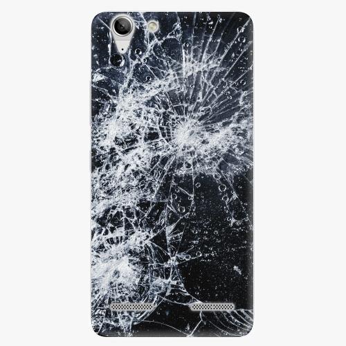 Plastový kryt iSaprio - Cracked - Lenovo Vibe K5