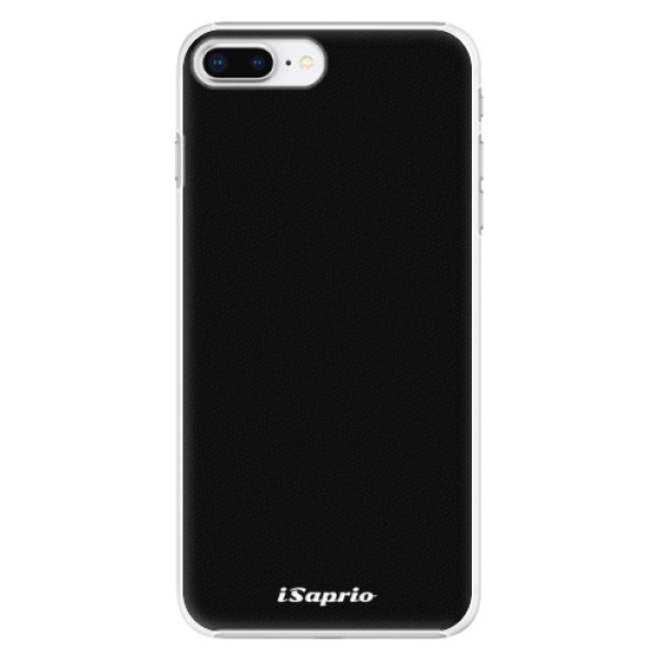 Plastové pouzdro iSaprio - 4Pure - černý - iPhone 8 Plus