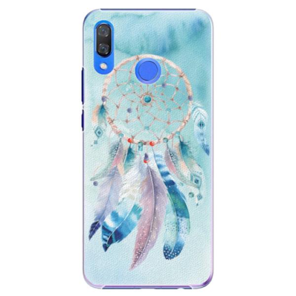 Plastové pouzdro iSaprio - Dreamcatcher Watercolor - Huawei Y9 2019