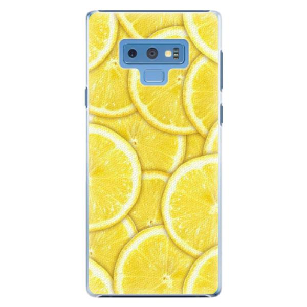 Plastové pouzdro iSaprio - Yellow - Samsung Galaxy Note 9