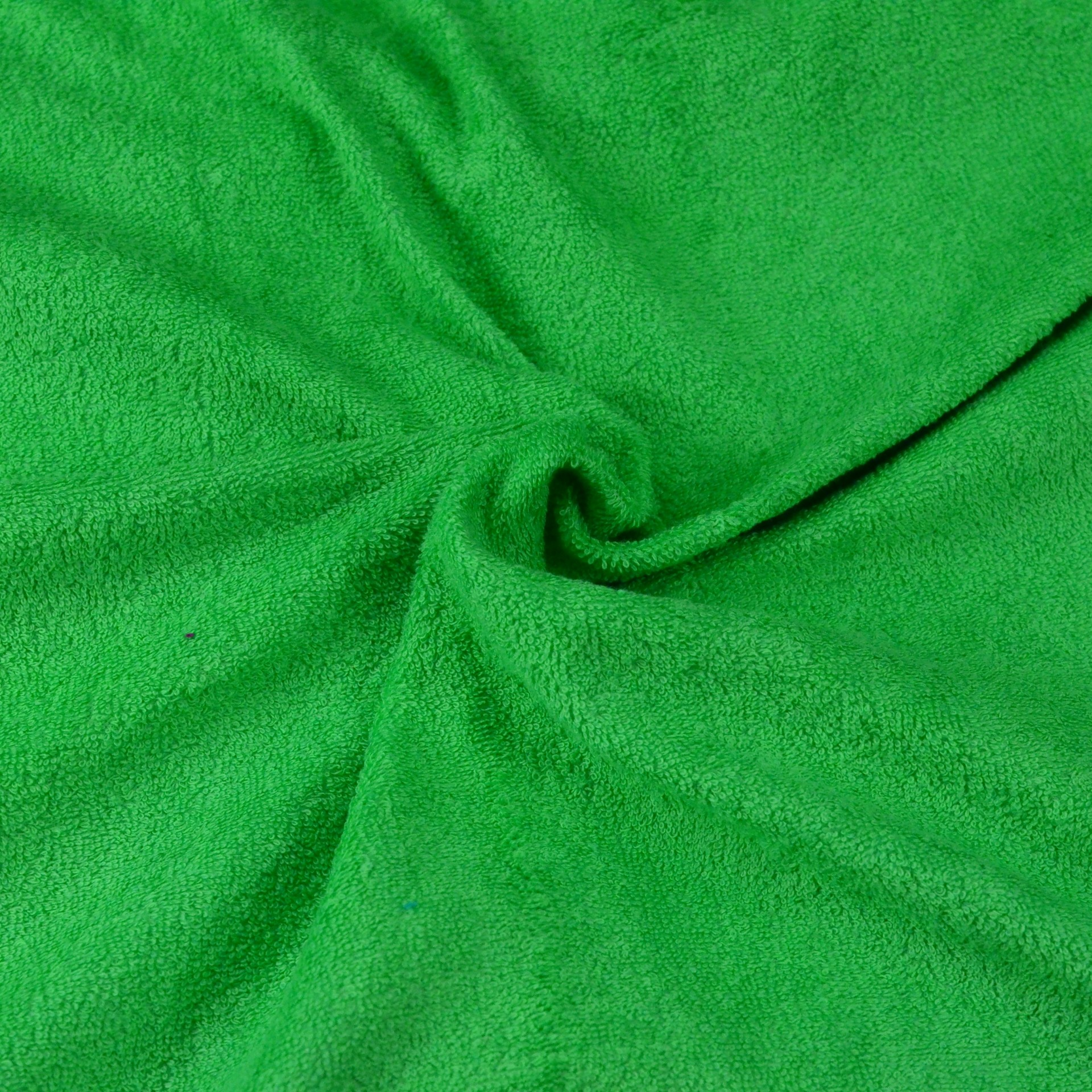 Froté prostěradlo zelené, Výběr rozměru - 180x200cm