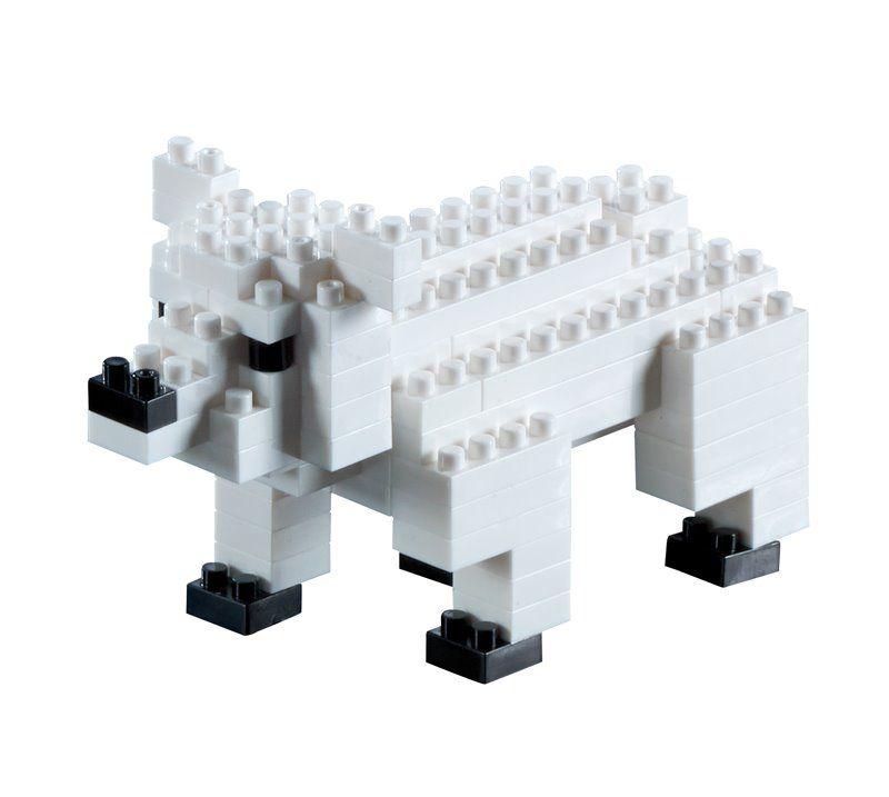 Stavebnice Brixies Lední medvěd