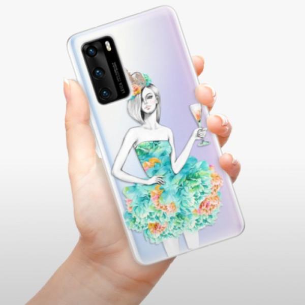 Odolné silikonové pouzdro iSaprio - Queen of Parties - Huawei P40