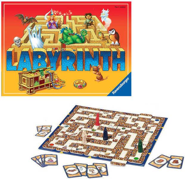 RAVENSBURGER Hra Labyrinth (Labyrint) - Tajemnice Labyrintu