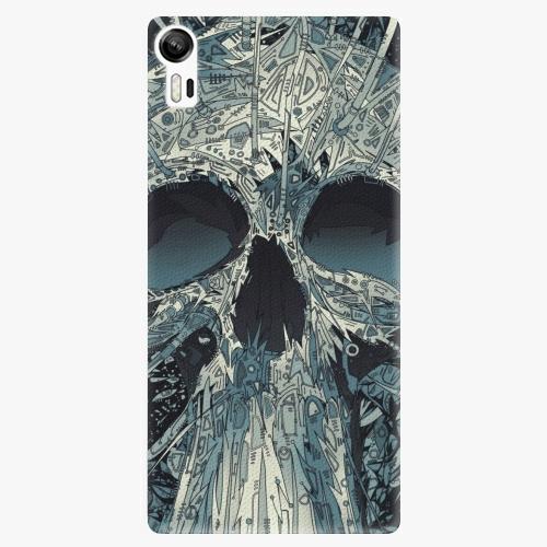 Plastový kryt iSaprio - Abstract Skull - Lenovo Vibe Shot